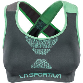 La Sportiva Focus Top Dam slate/jade green